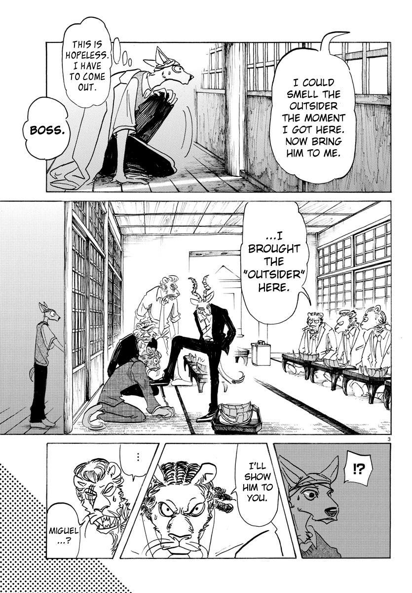Beastars Manga, Chapter 132 image 003