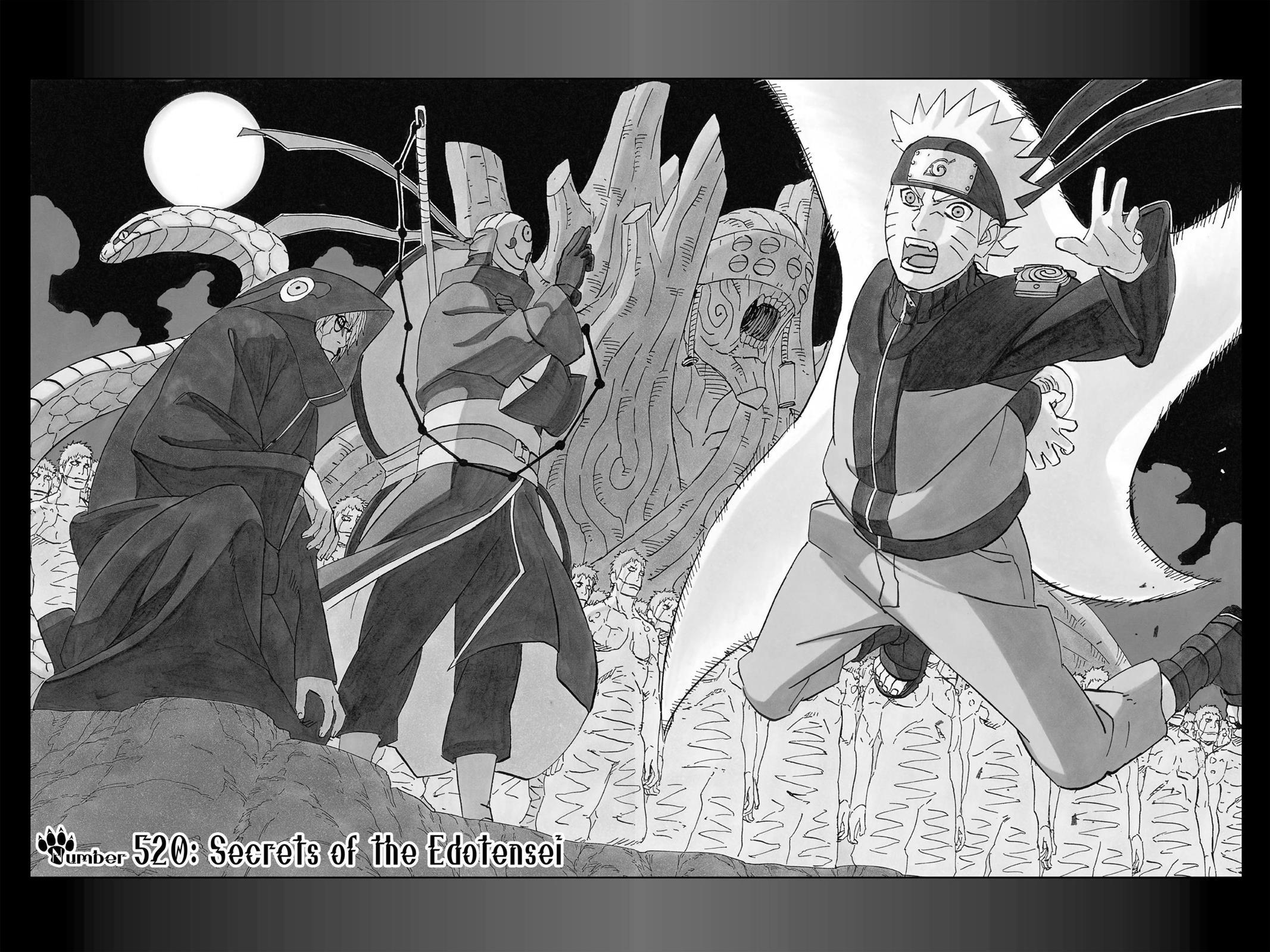 Naruto, Chapter 520 image 002