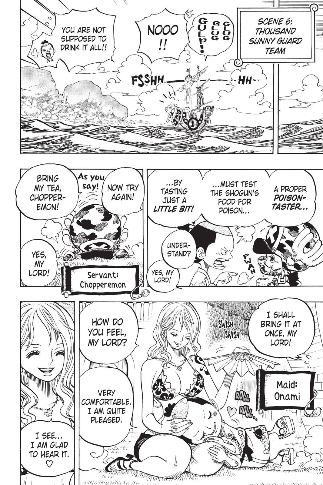 One Piece, Chapter 705 image 016