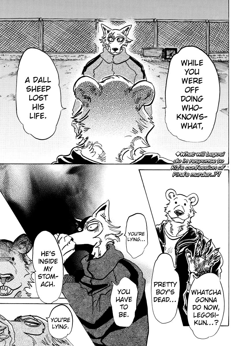Beastars Manga, Chapter 91 image 001