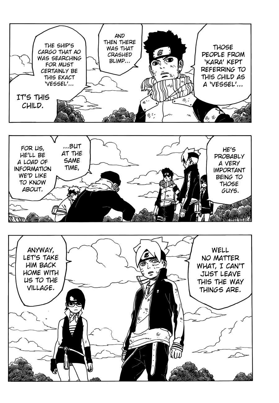 Boruto Manga, Chapter 25 image 041