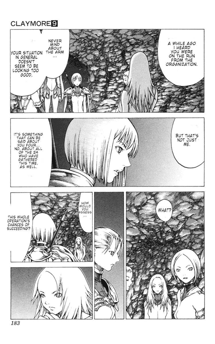 Claymore, Chapter 51 image 025