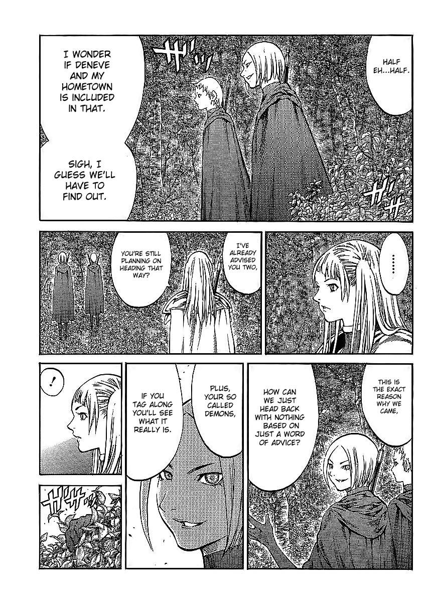 Claymore, Chapter 86 image 013