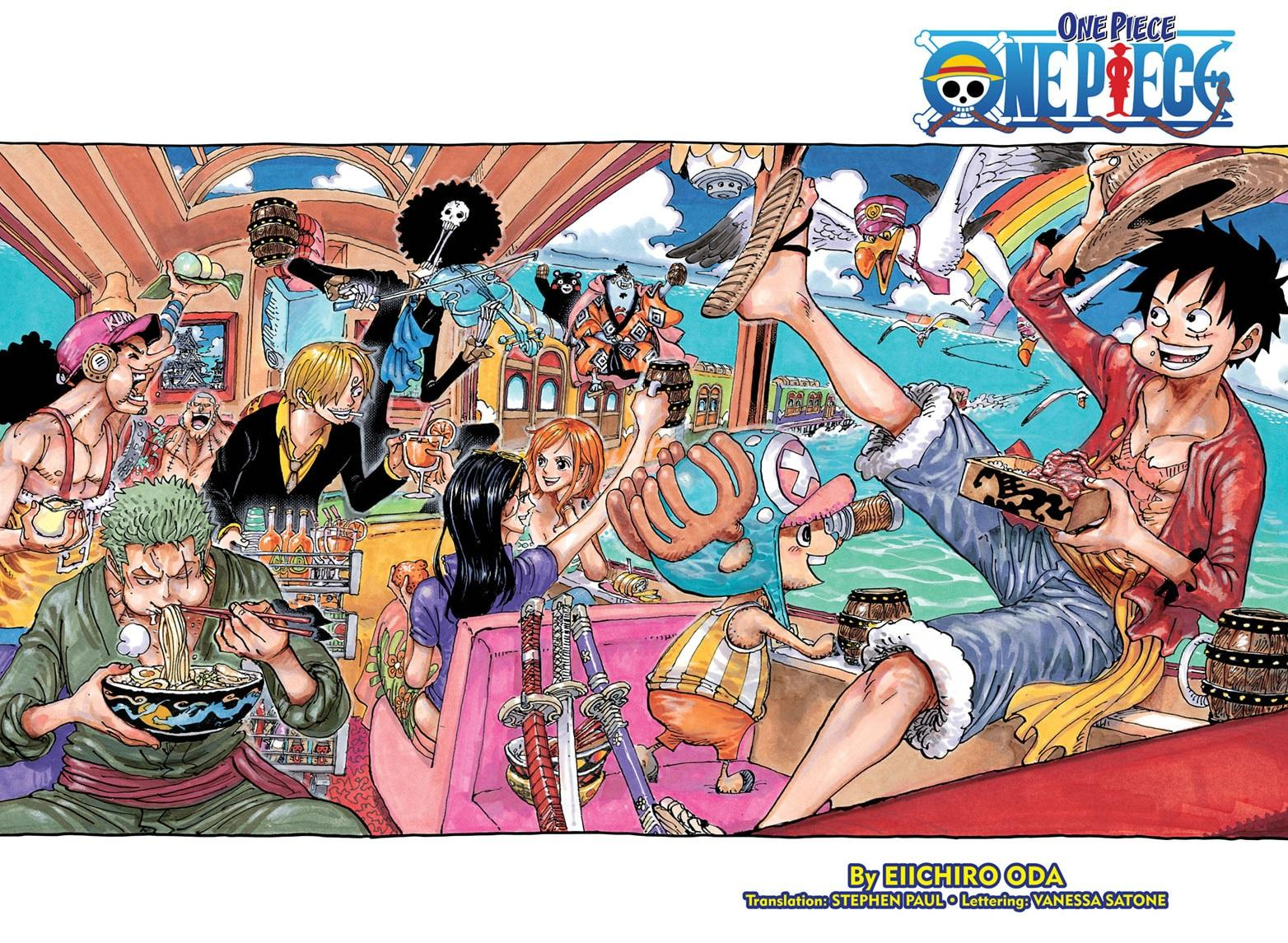 One Piece, Chapter 992 image 001