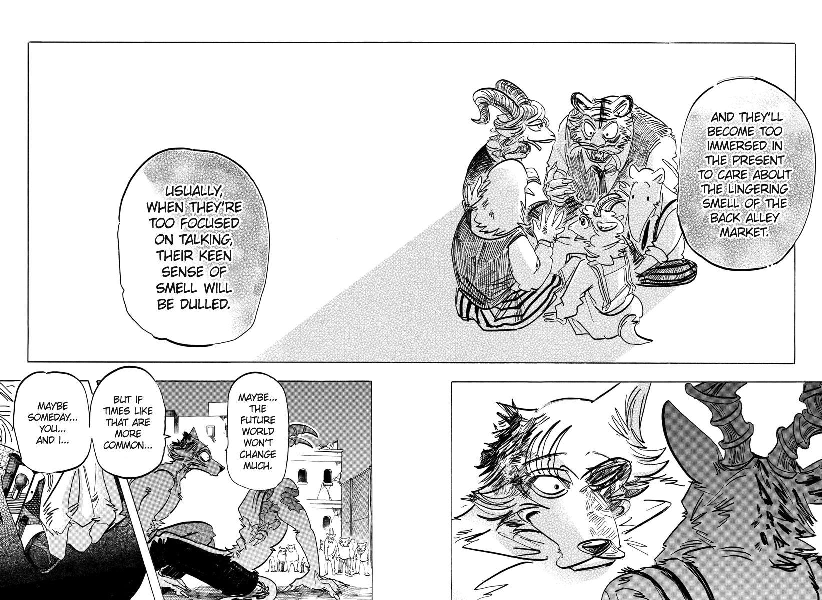 Beastars Manga, Chapter 191 image 007