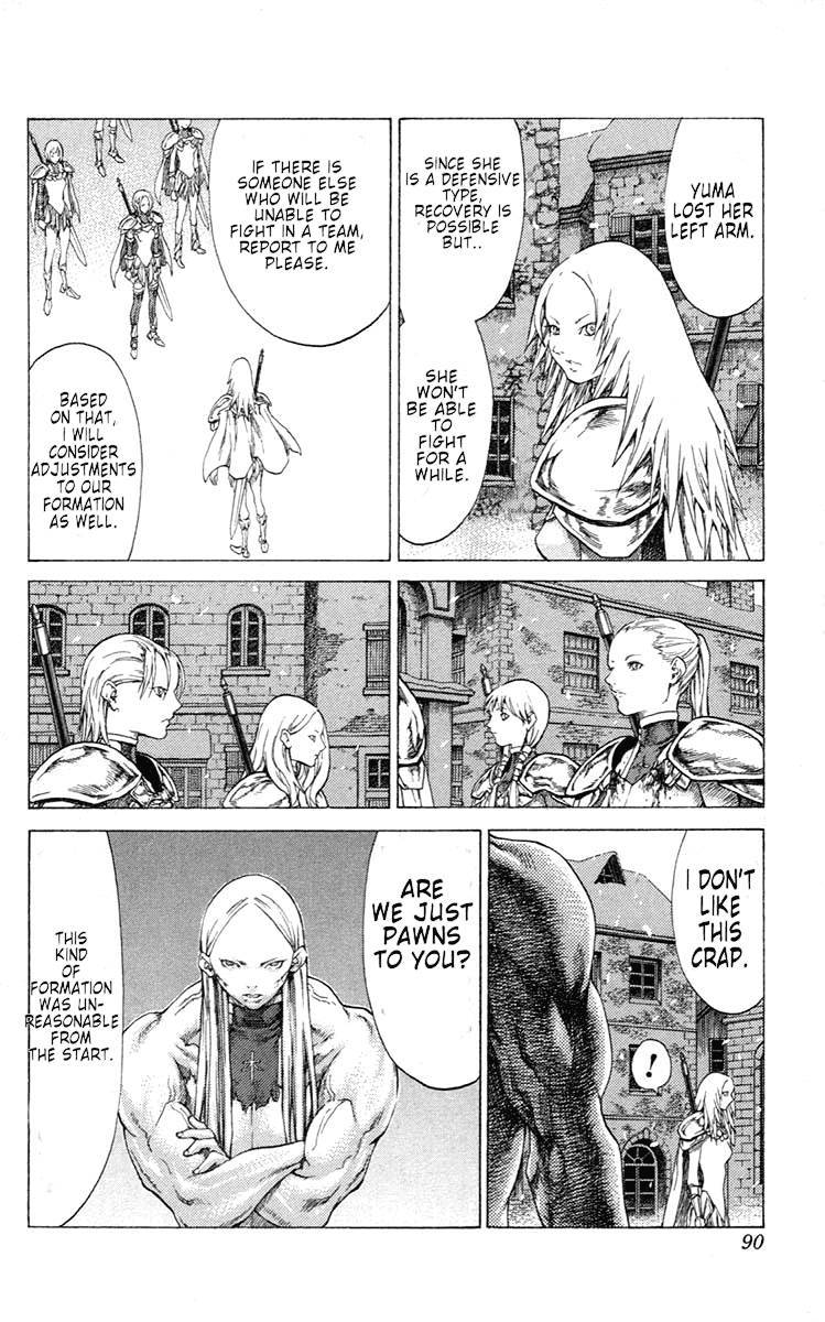 Claymore, Chapter 54 image 019