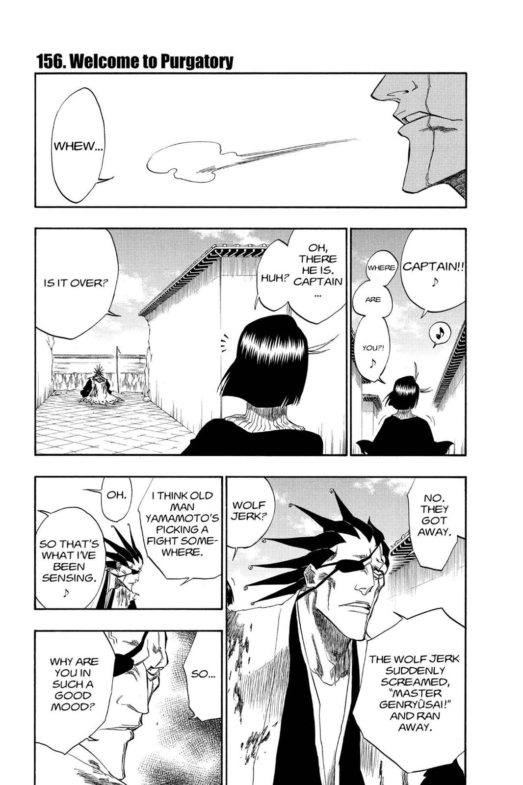 Bleach, Chapter 156 image 001