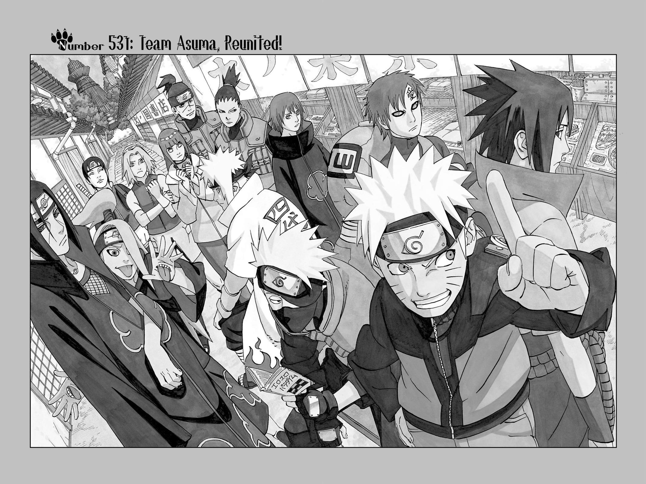 Naruto, Chapter 531 image 002