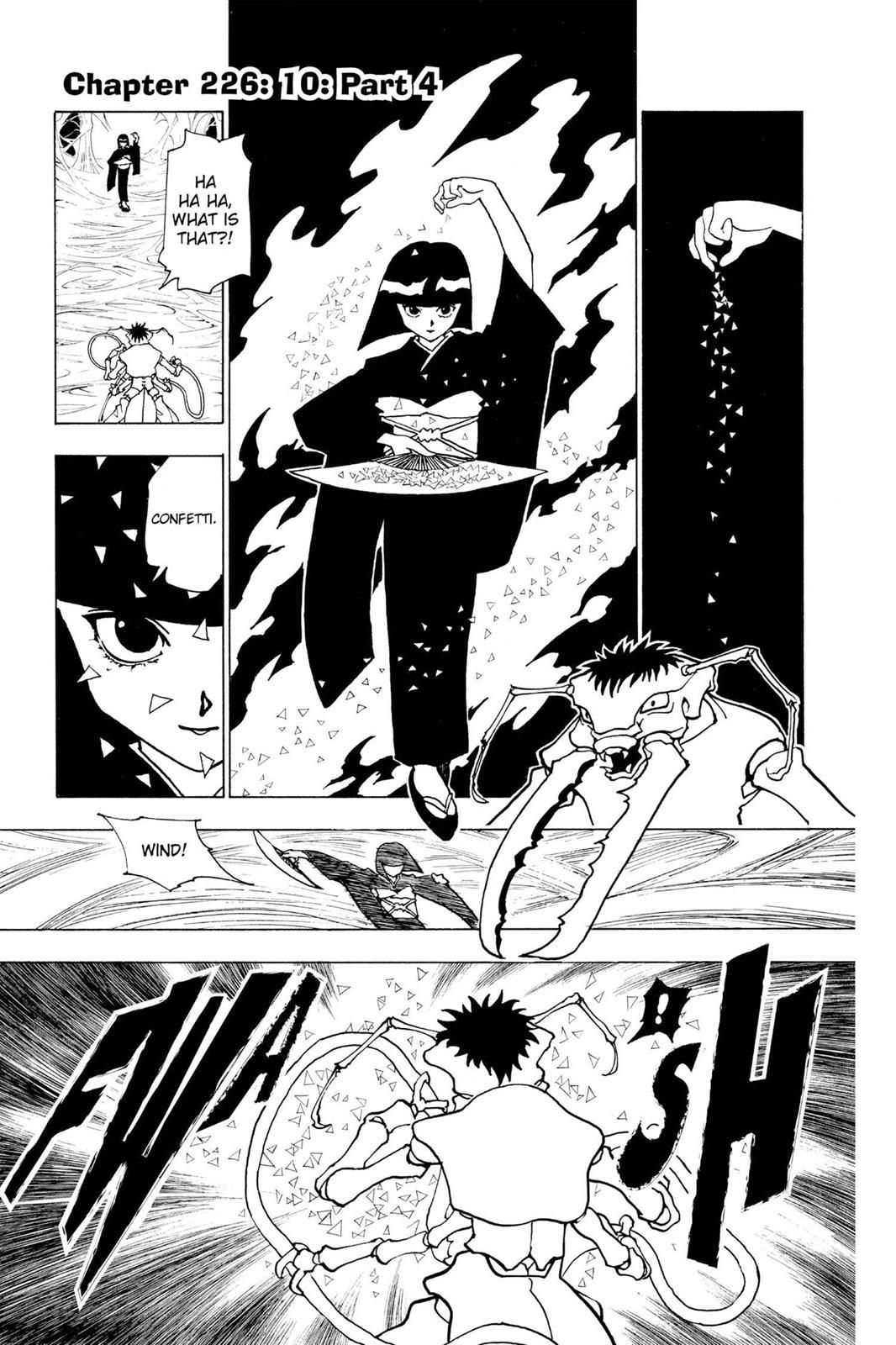 Hunter X Hunter, Chapter 226 image 001