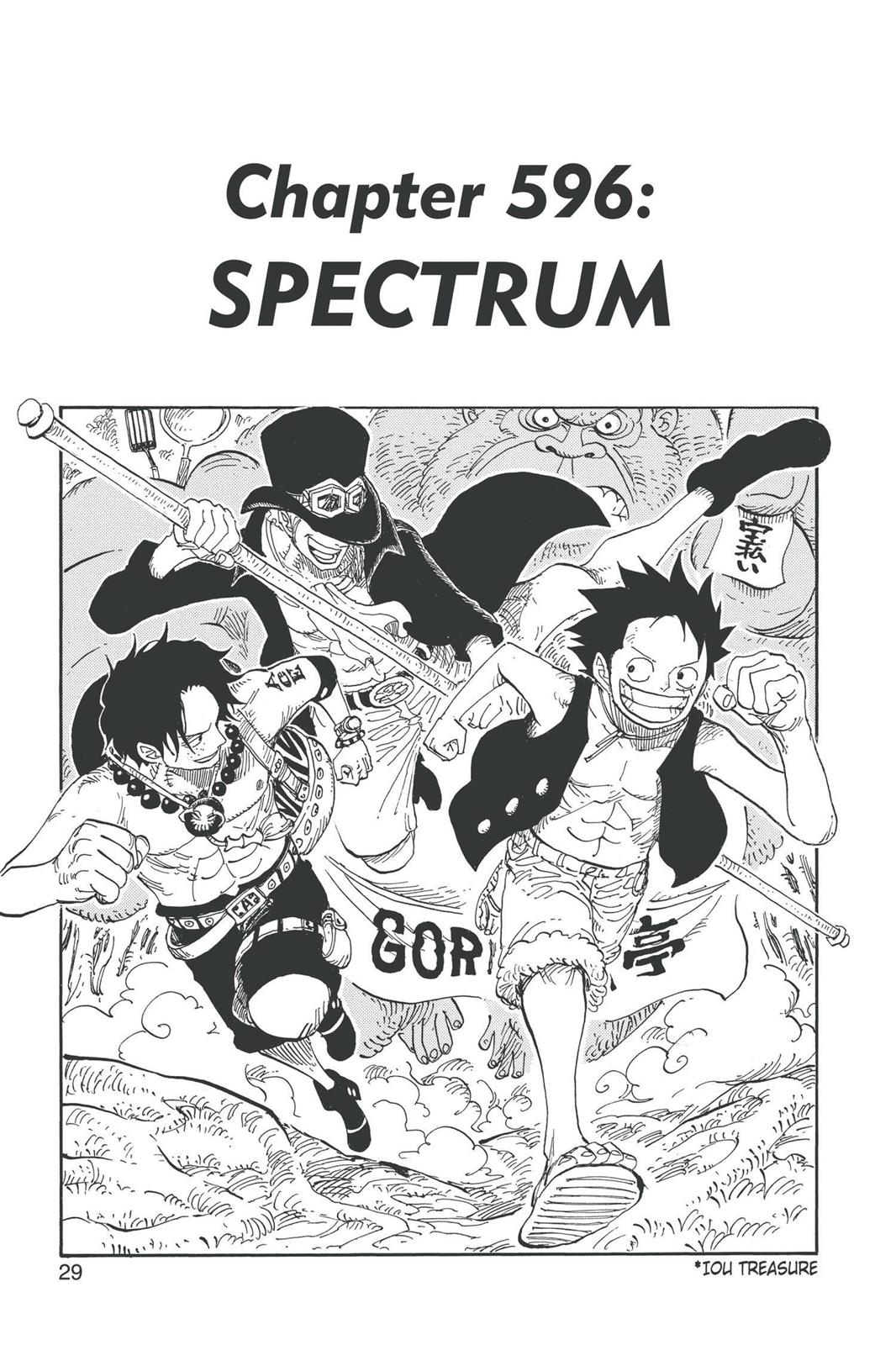One Piece, Chapter 596 image 001