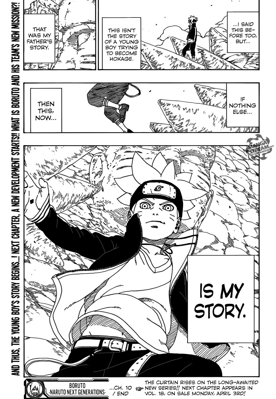 Boruto Manga, Chapter 10 image 046