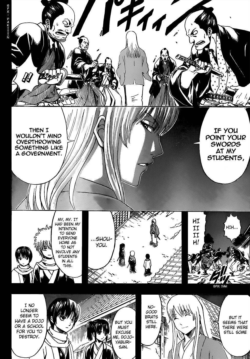 Gintama Chapter, 518 image 014