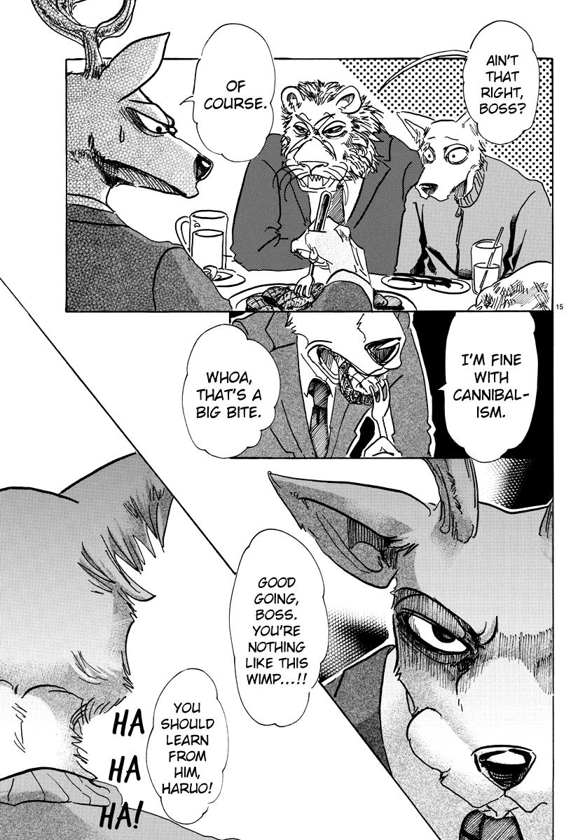 Beastars Manga, Chapter 75 image 014