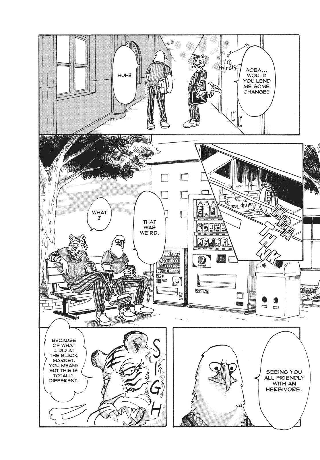 Beastars Manga, Chapter 48 image 012