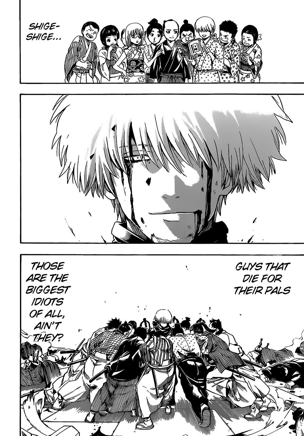 Gintama Chapter, 509 image 018