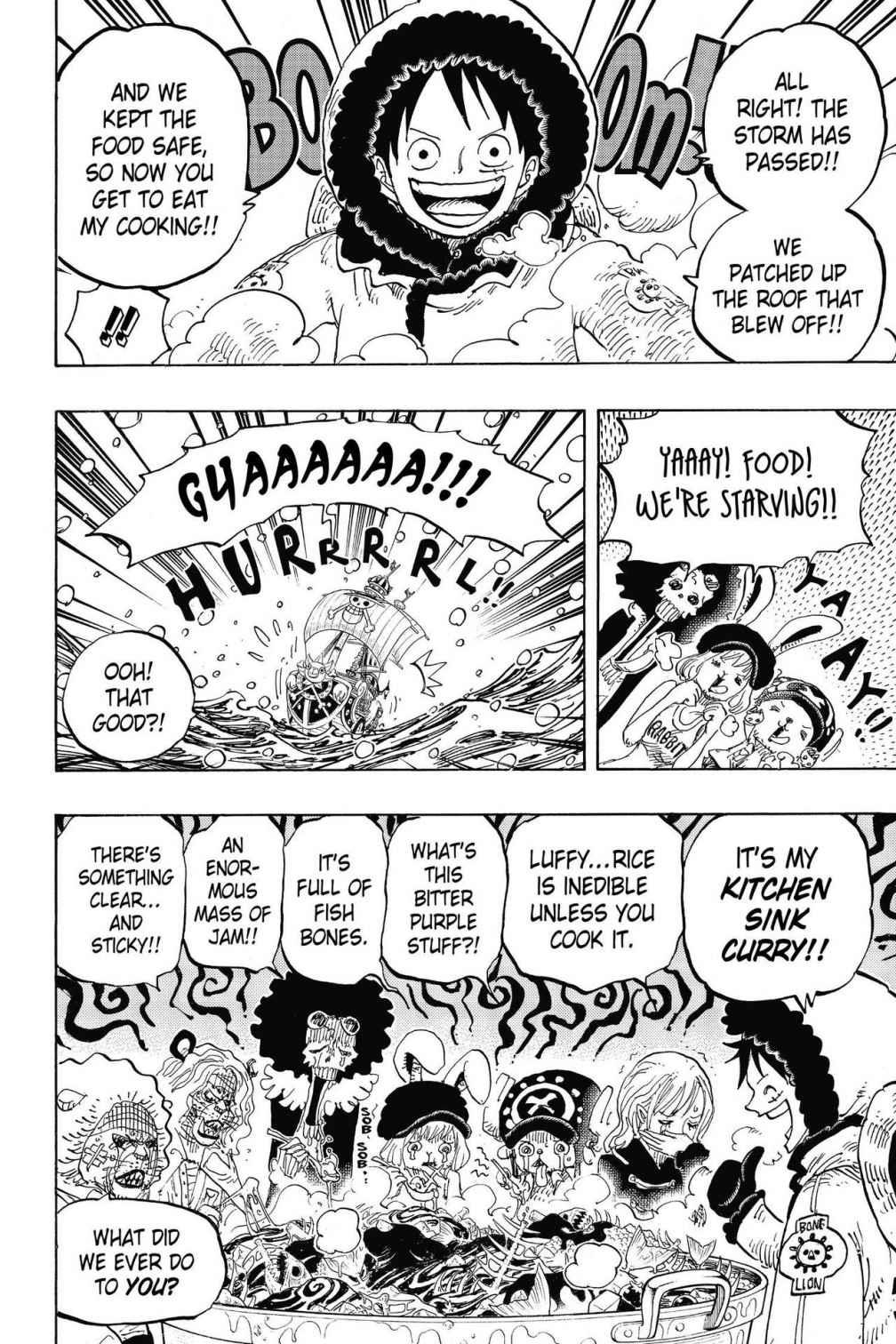 One Piece, Chapter 824 image 014