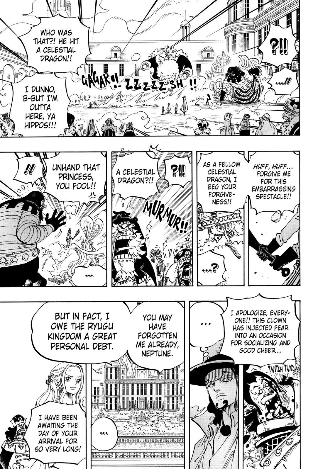 One Piece, Chapter 907 image 015