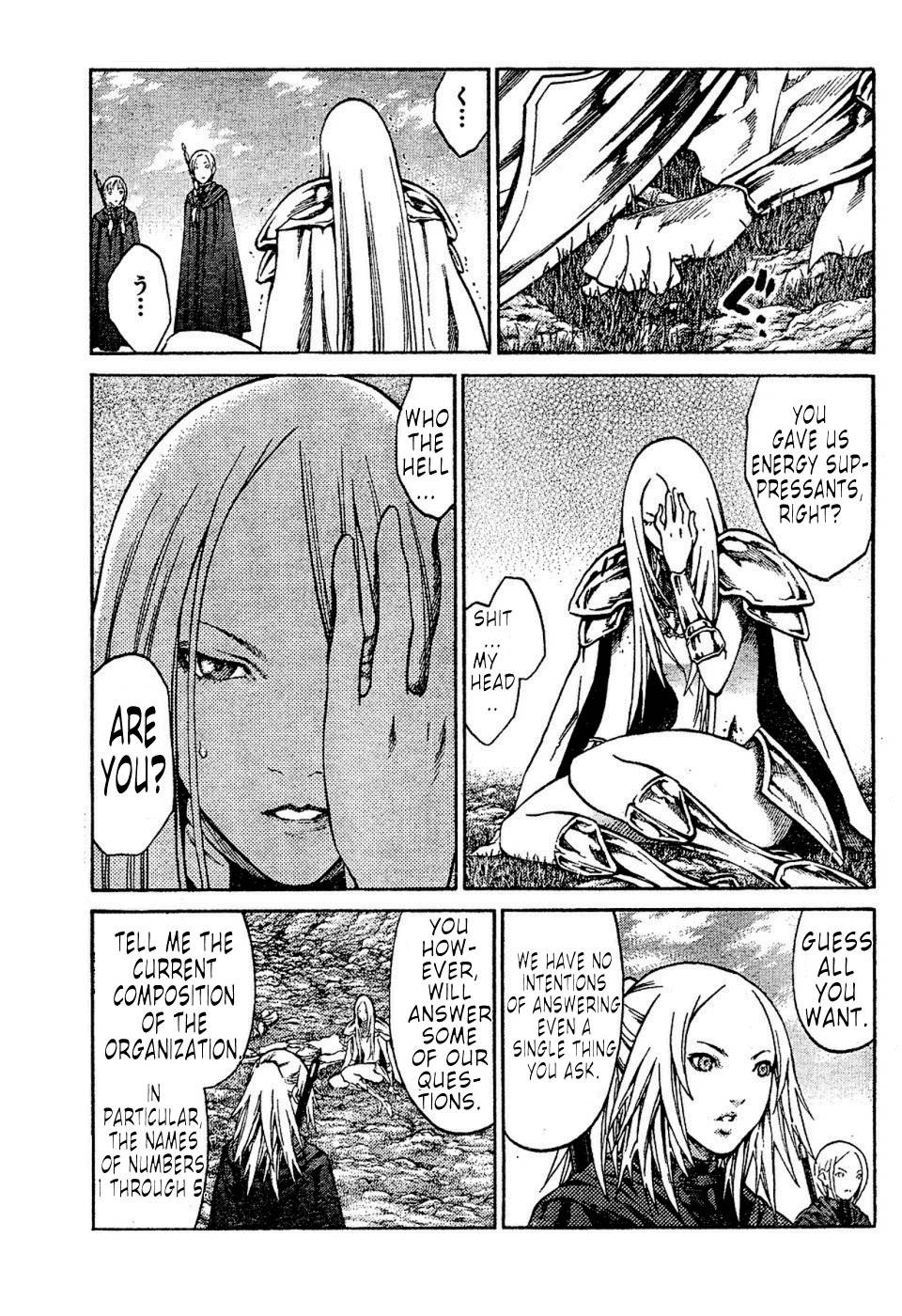 Claymore, Chapter 72 image 013