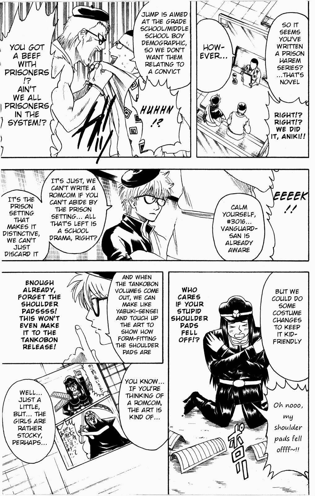 Gintama Chapter, 361 image 016