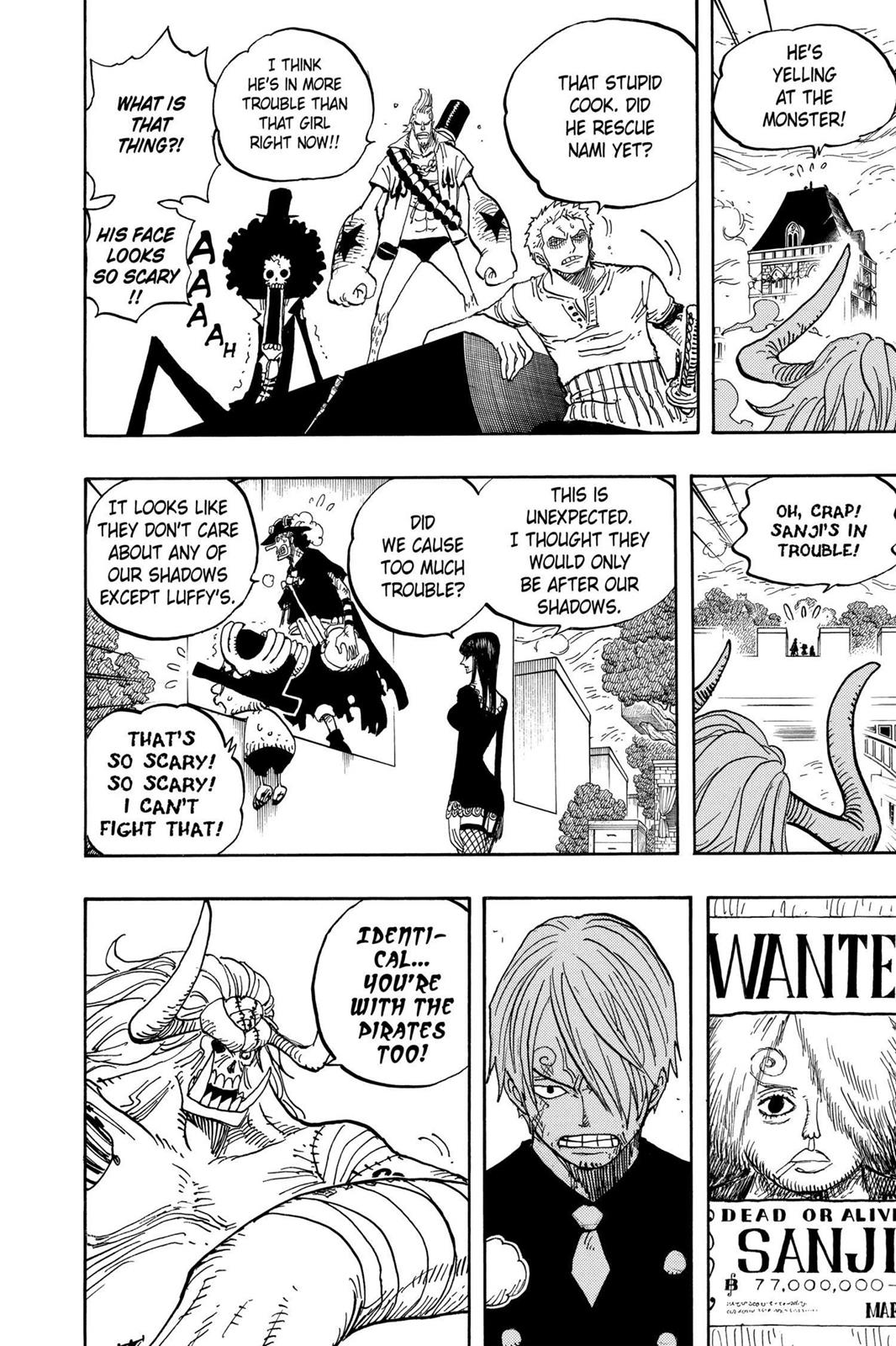 One Piece, Chapter 470 image 004
