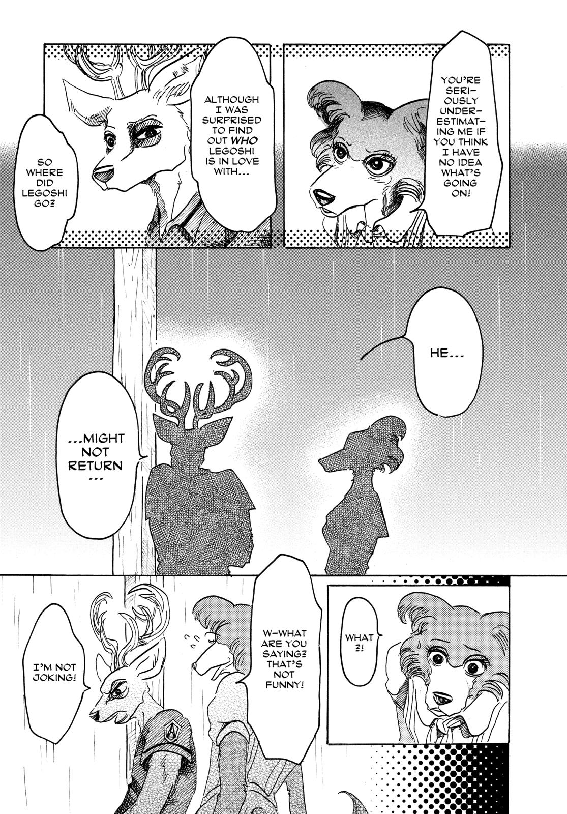 Beastars Manga, Chapter 37 image 018