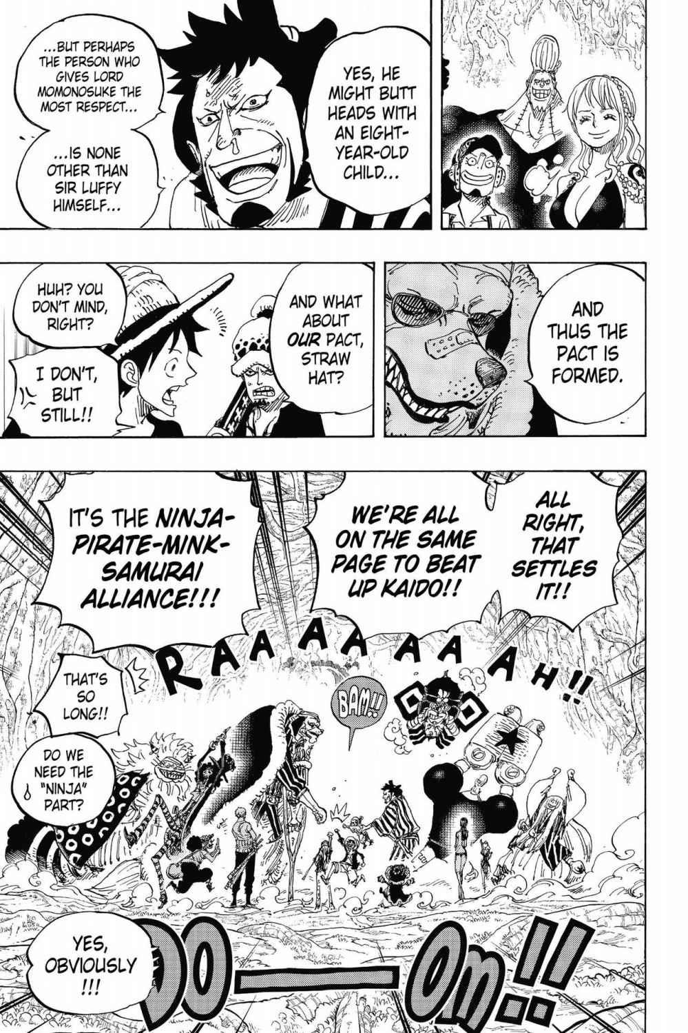 One Piece, Chapter 819 image 013