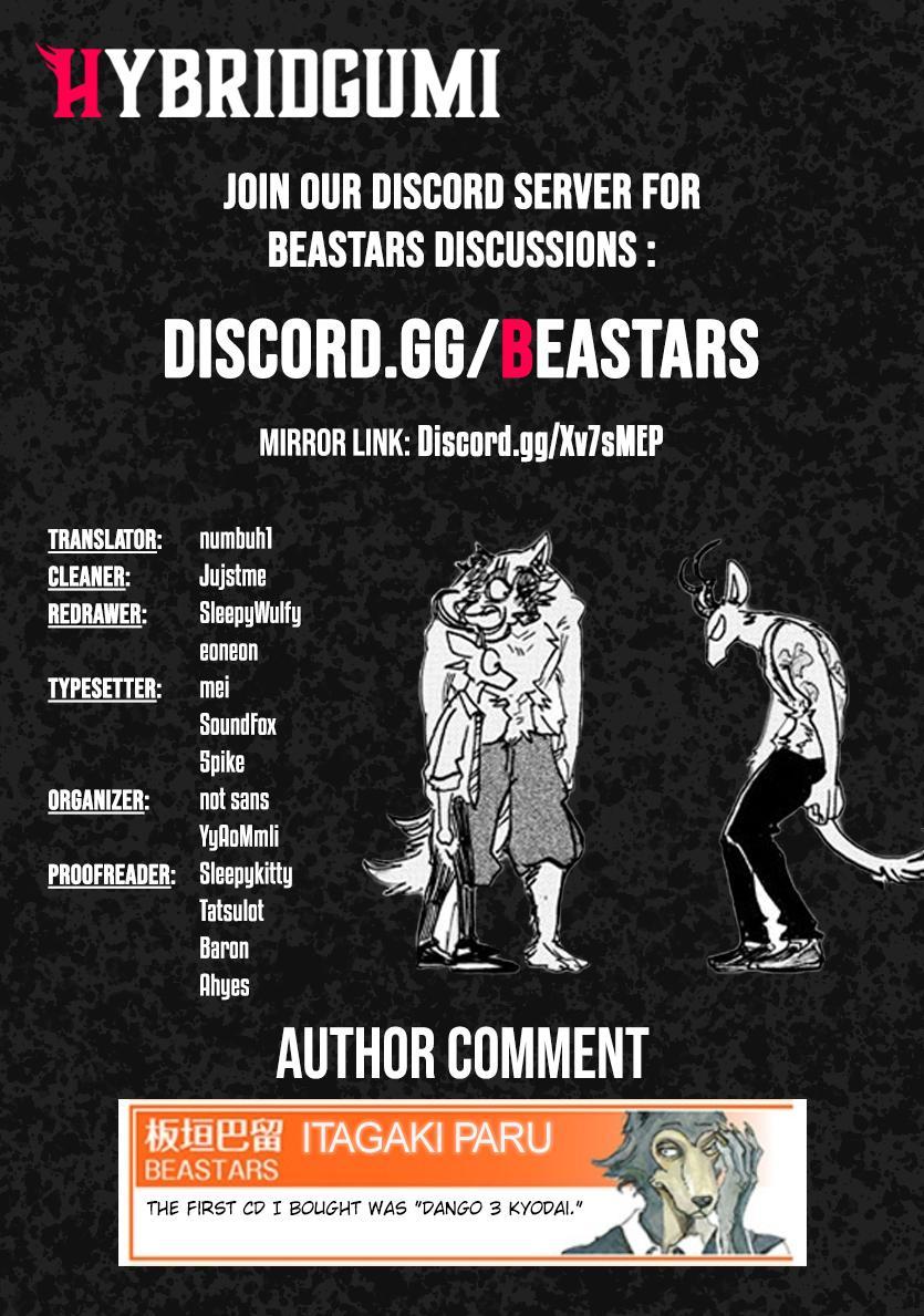 Beastars Manga, Chapter 191 image 019