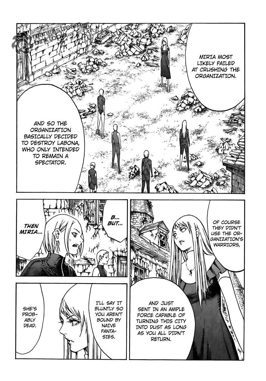 Claymore, Chapter 108 image 029