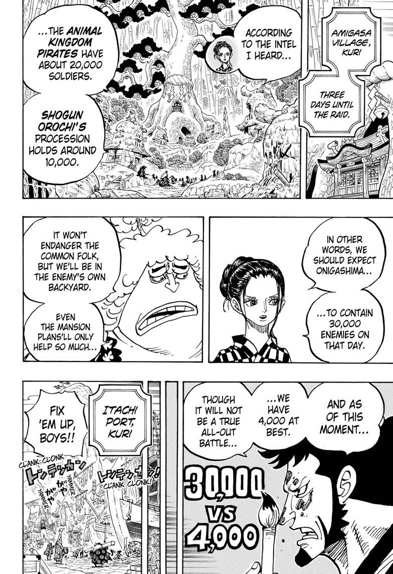 One Piece, Chapter 955 image 008