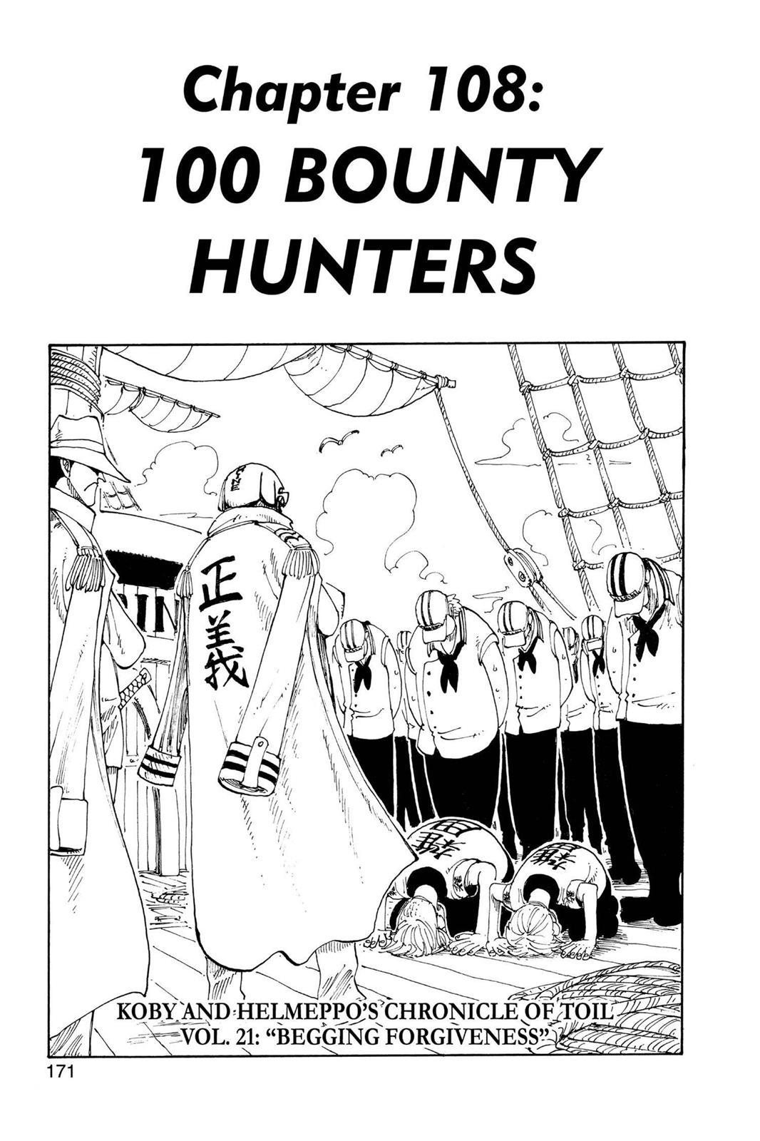 One Piece, Chapter 108 image 001