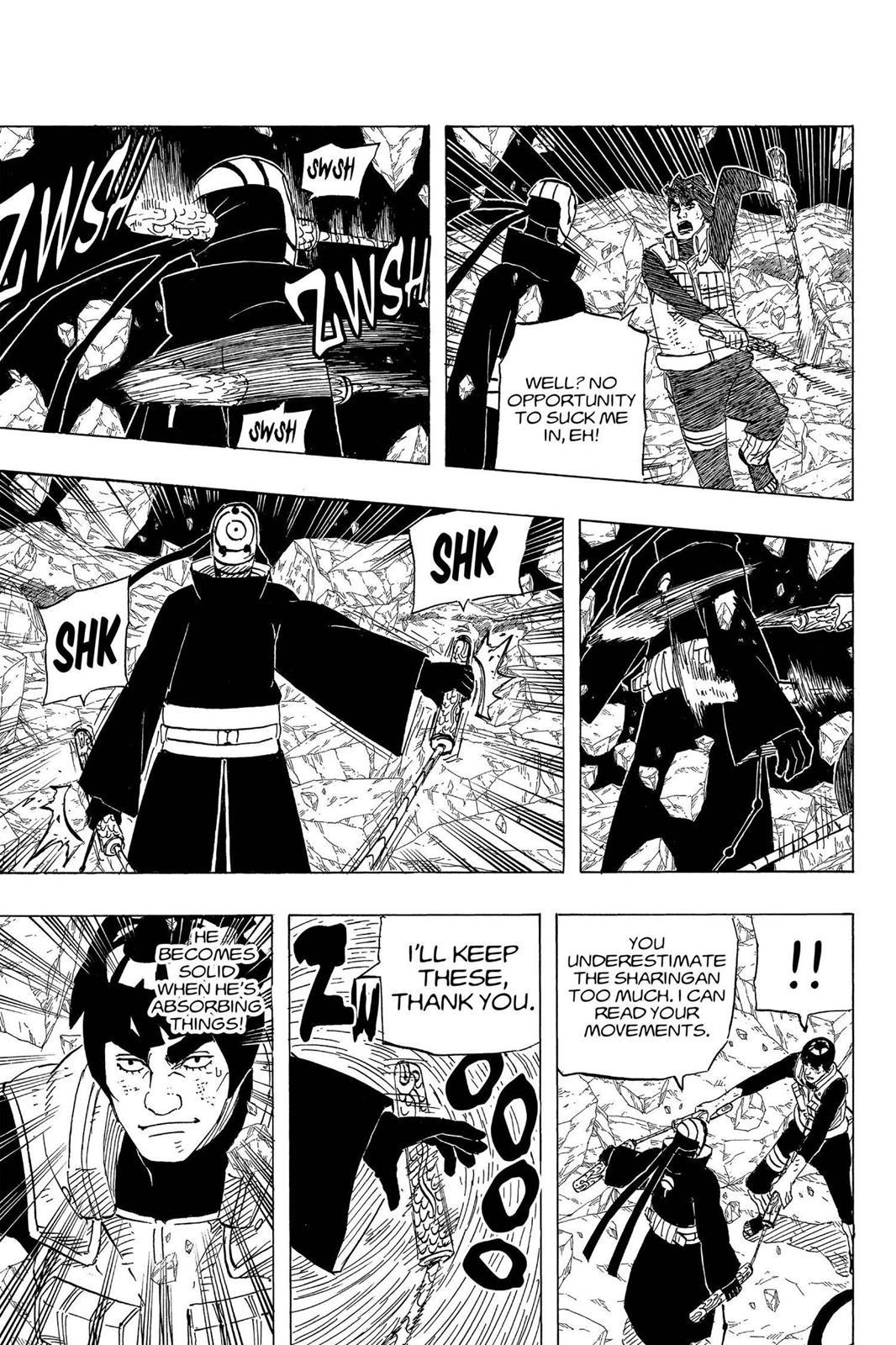 Naruto, Chapter 596 image 011