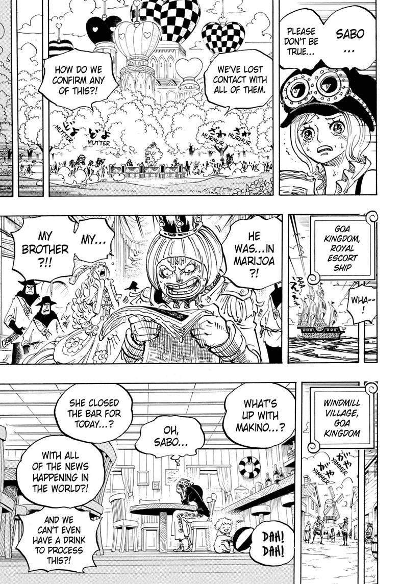 One Piece, Chapter 956 image 009
