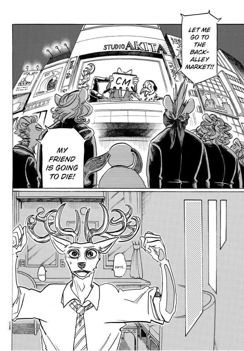 Beastars Manga, Chapter 185 image 014