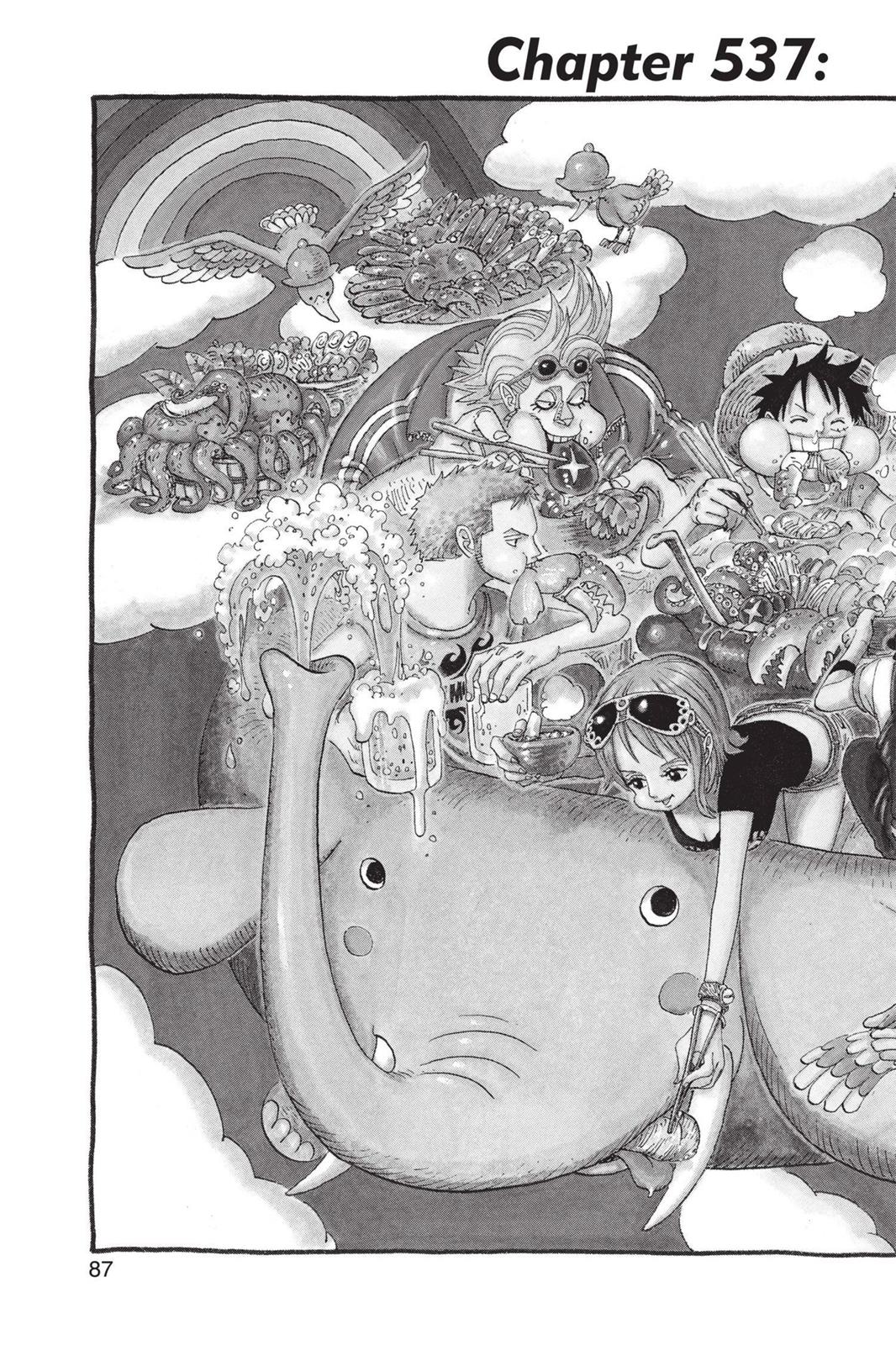 One Piece, Chapter 537 image 002