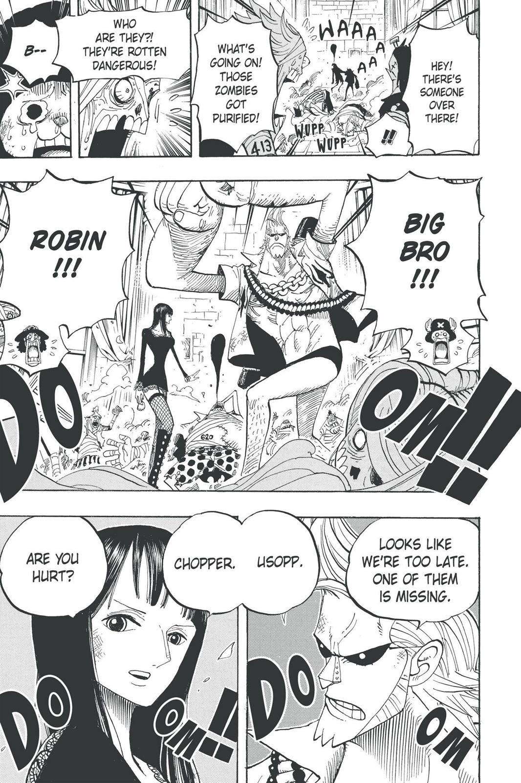 One Piece, Chapter 457 image 020