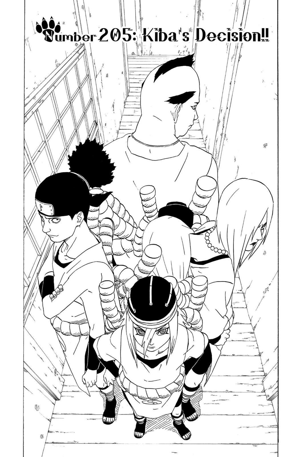 Naruto, Chapter 205 image 001