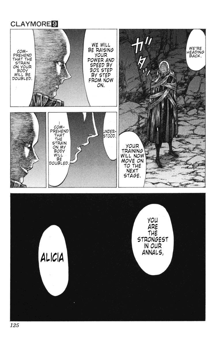 Claymore, Chapter 49 image 028