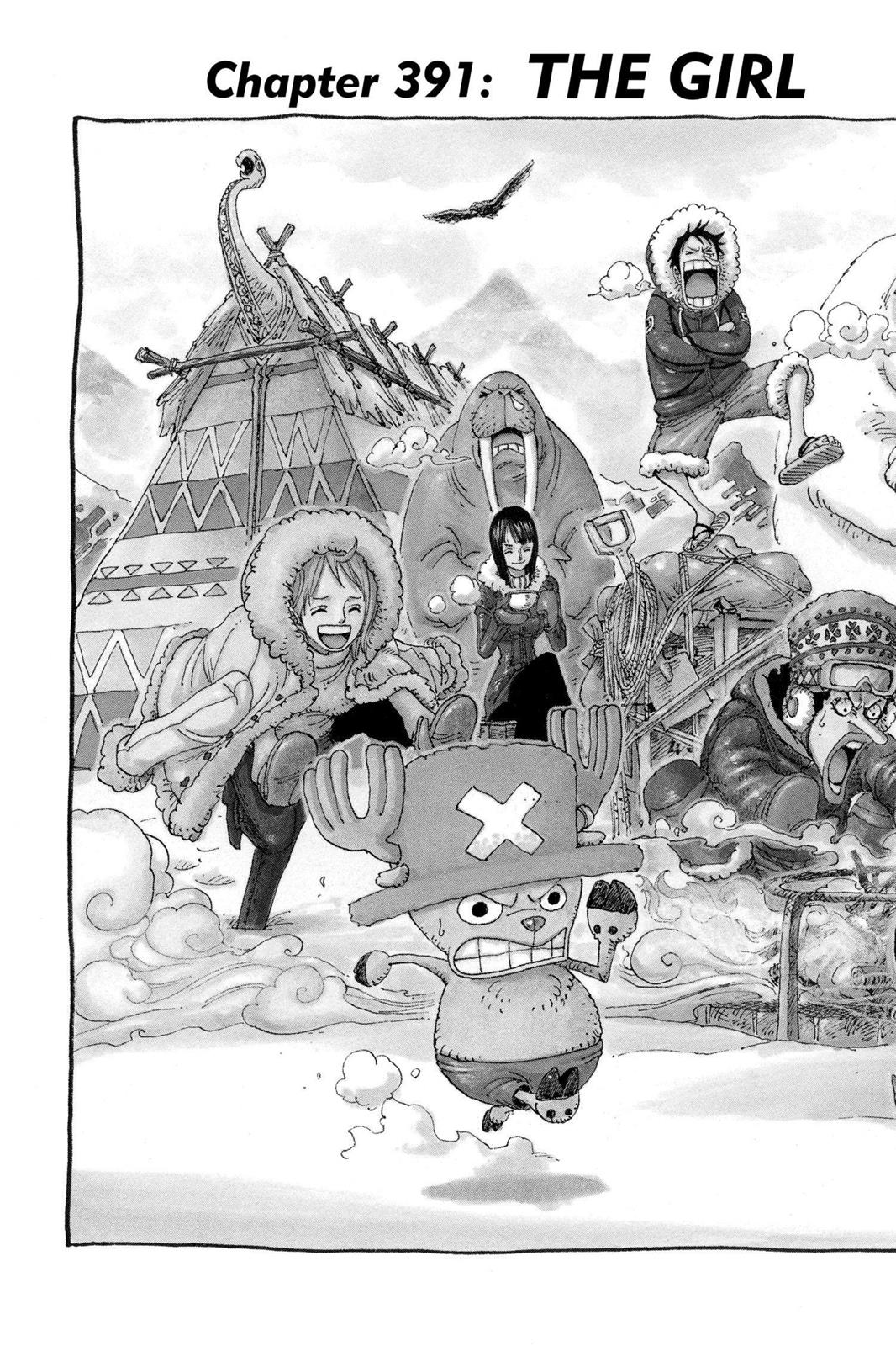 One Piece, Chapter 391 image 002