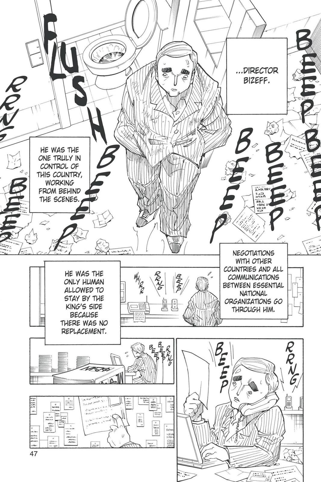 Hunter X Hunter, Chapter 250 image 009