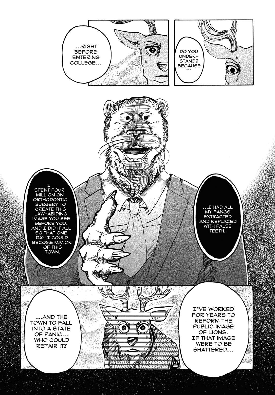 Beastars Manga, Chapter 36 image 005
