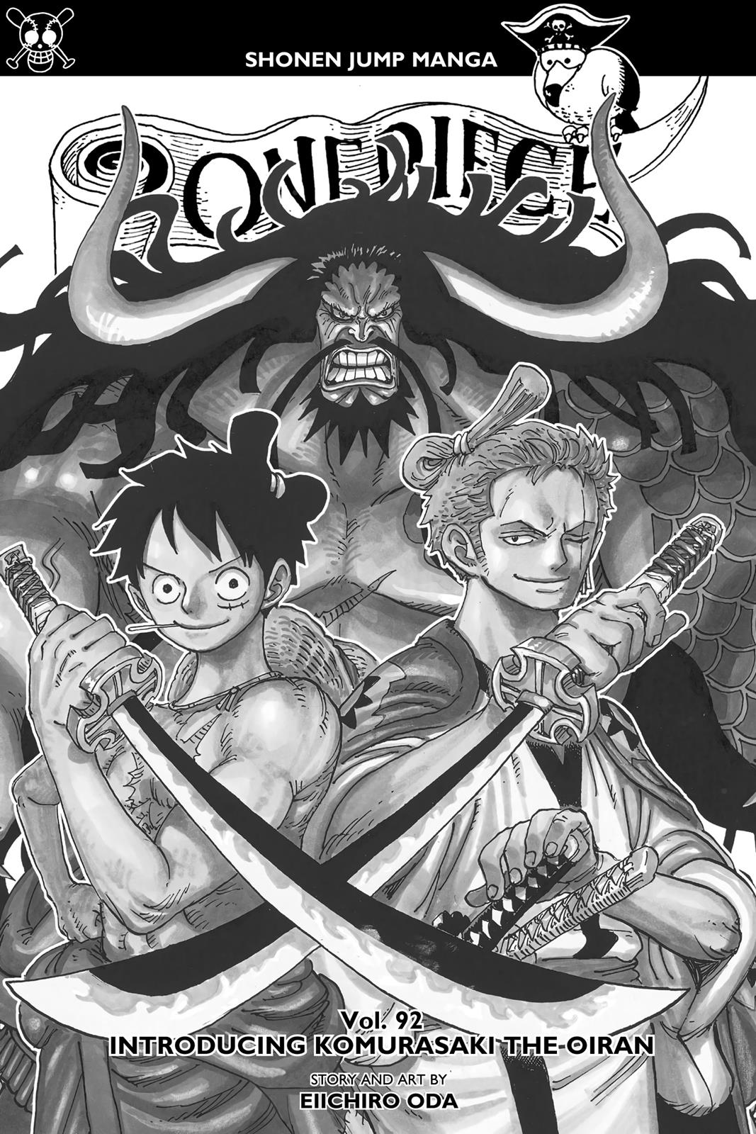 One Piece, Chapter 922 image 002