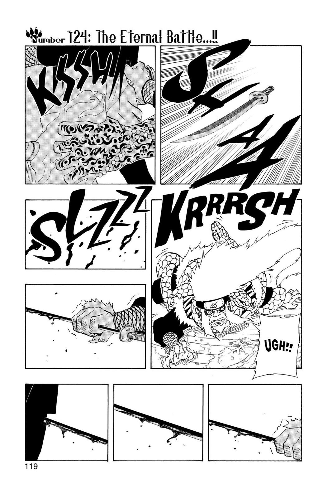 Naruto, Chapter 124 image 001