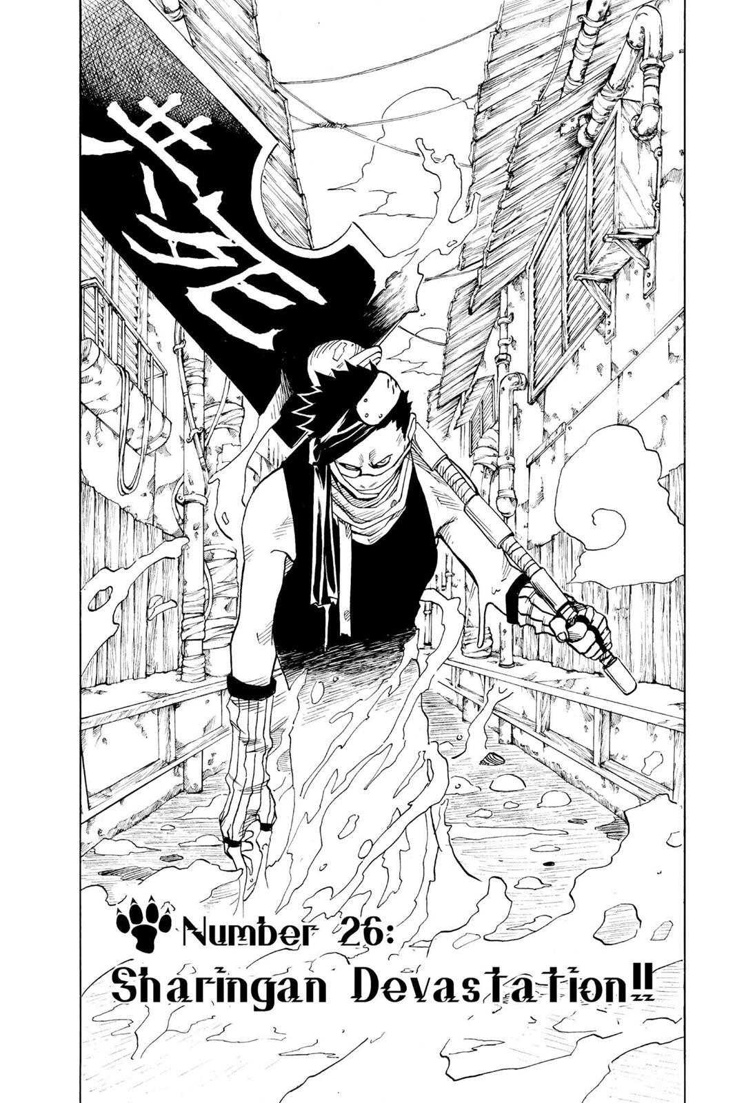 Naruto, Chapter 26 image 001