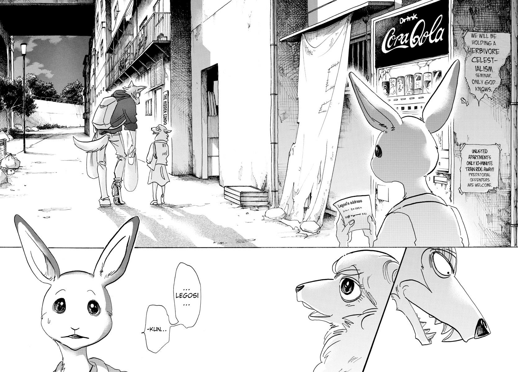 Beastars Manga, Chapter 107 image 017