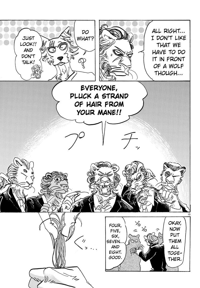 Beastars Manga, Chapter 144 image 012