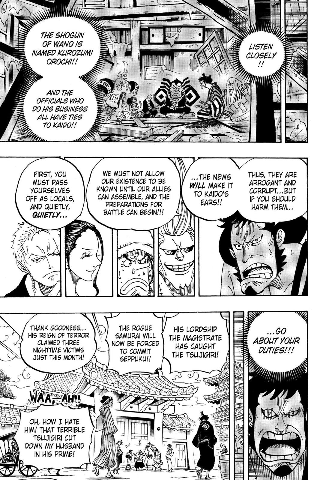 One Piece, Chapter 909 image 012