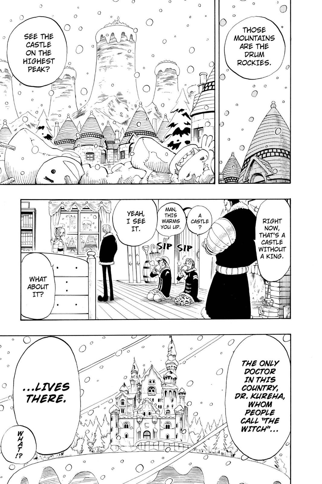 One Piece, Chapter 133 image 011