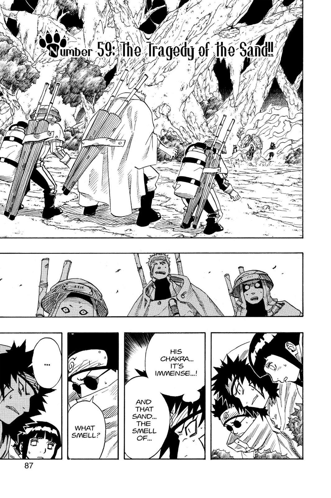 Naruto, Chapter 59 image 001