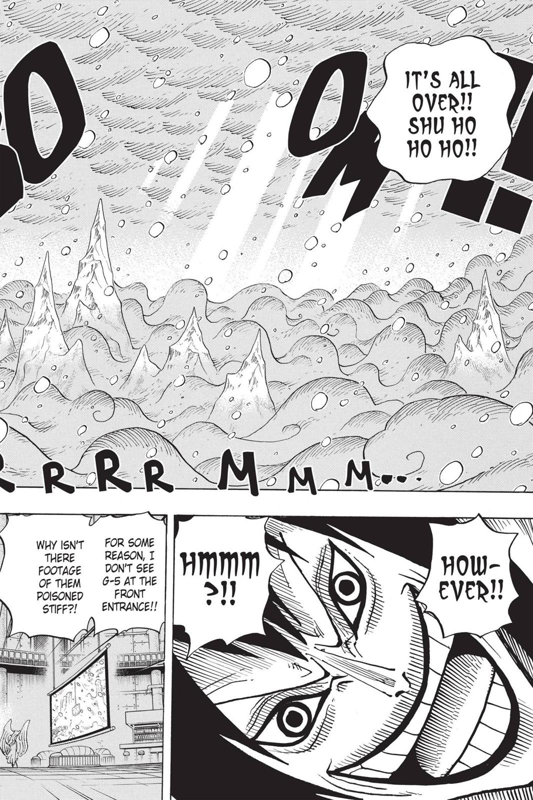One Piece, Chapter 679 image 009