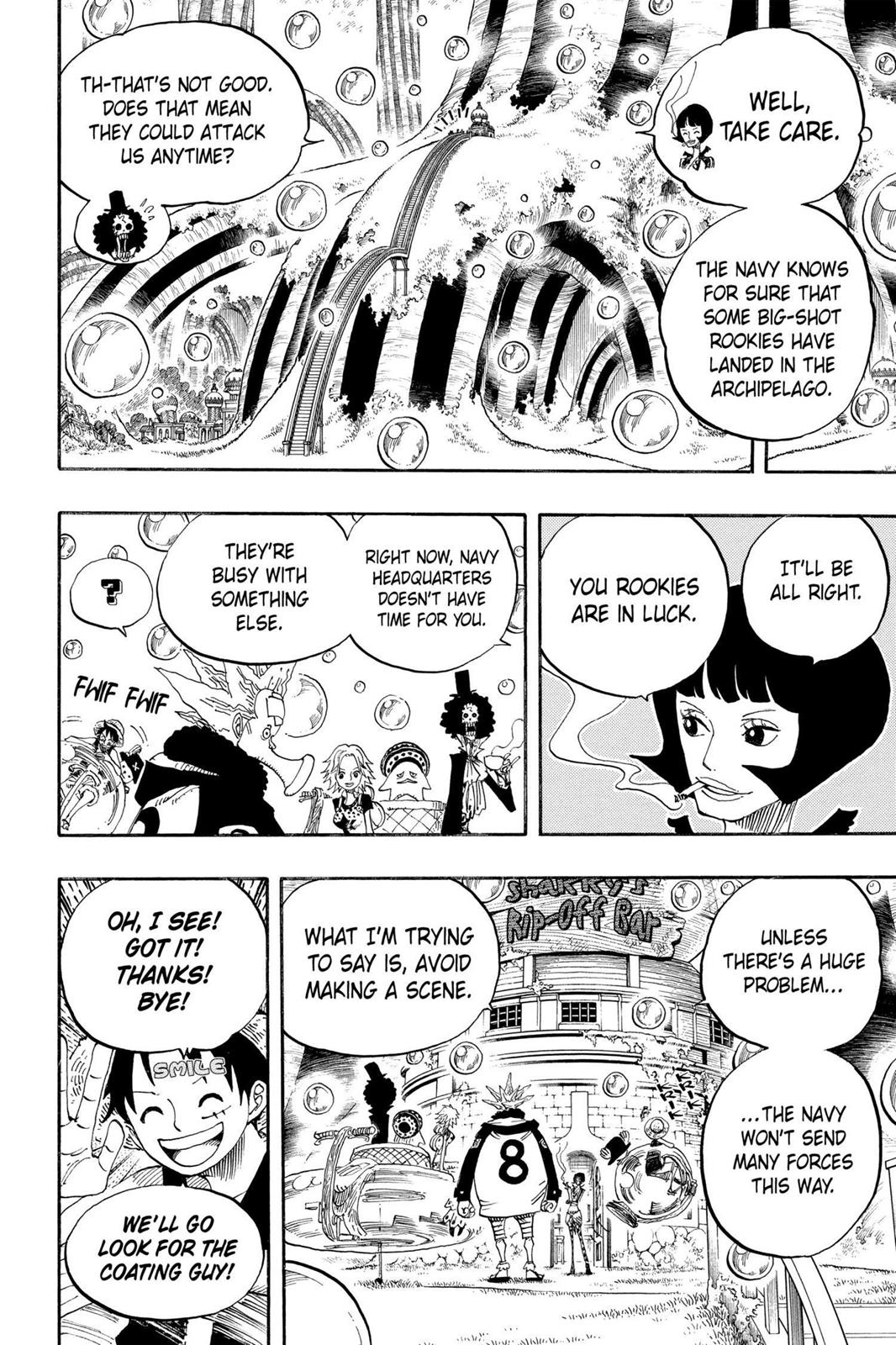 One Piece, Chapter 499 image 002